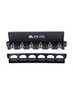 Uchwyt stojak na wędki 6 Mikado pionowy AM-UNI-002