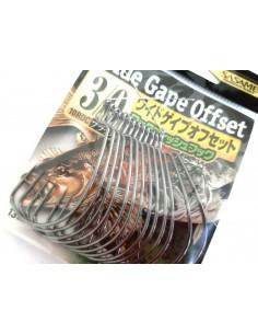 Japońskie haczyki Sasame Wide Gape Offset 13 szt. nr 3/0