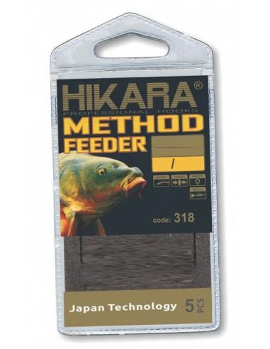 Haczyki Traper HIKARA Method Feeder Rig Select Quick 10/0,22
