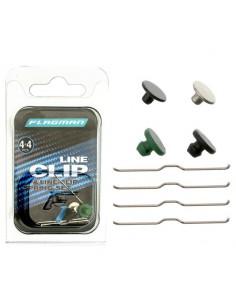 Klipsy do szpuli kołowrotków Flagman Line Clip & Line Clip Spring Set FLCS4