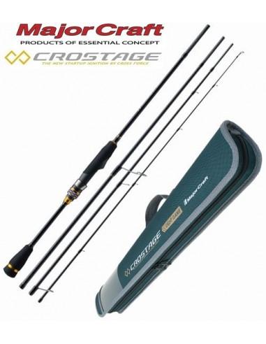 Wędka Major Craft Crostage Travel 232cm 0.5-7g CRX-T764L