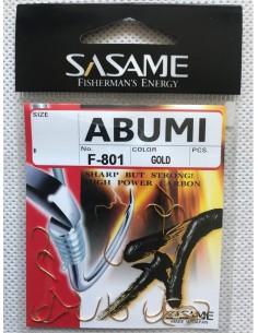 Japońskie haczyki Sasame Abumi nr6 f-801 16szt